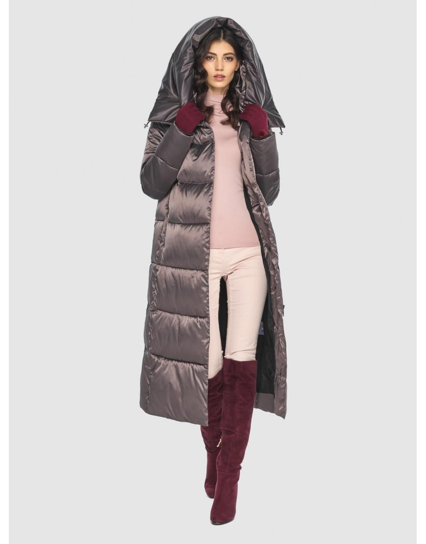 Куртка Vivacana люксовая капучиновая женская 9150/21 фото 2