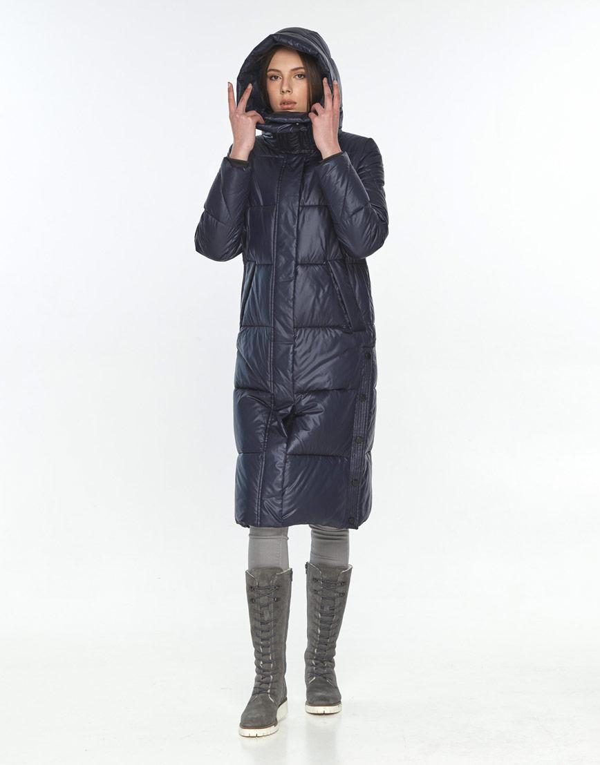 Куртка стильная женская Wild Club синяя зимняя 534-23 фото 1