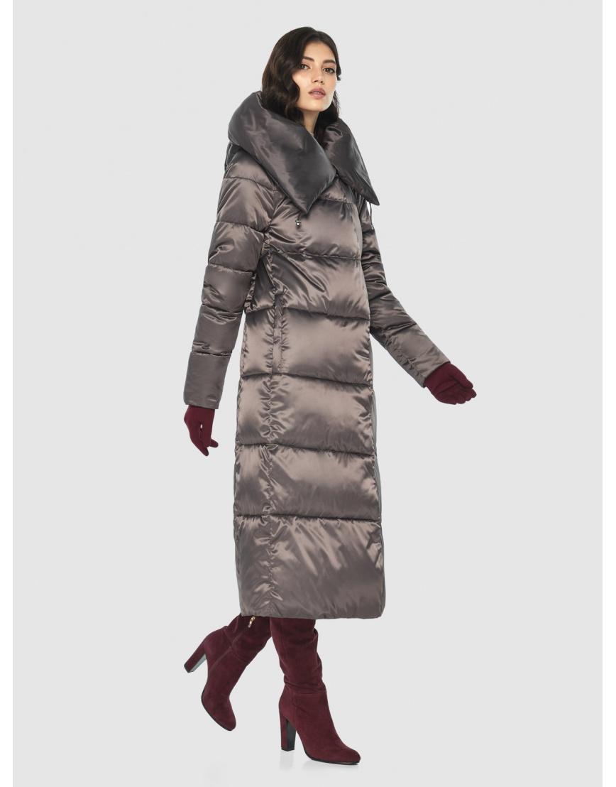 Куртка Vivacana люксовая капучиновая женская 9150/21 фото 1