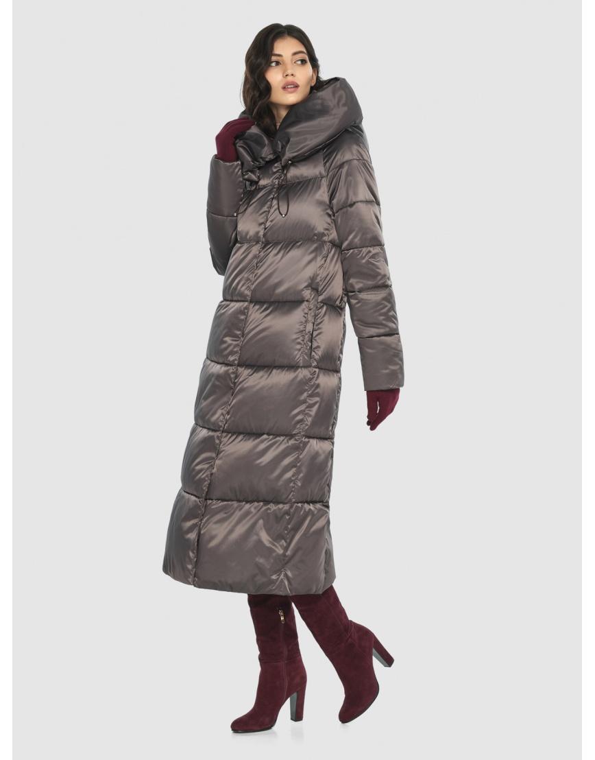 Куртка Vivacana люксовая капучиновая женская 9150/21 фото 3
