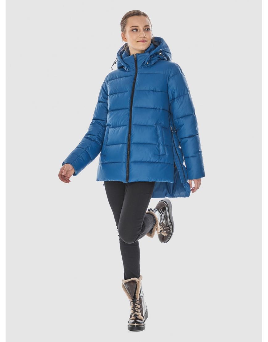 Куртка синего цвета женская Wild Club 526-85 фото 1