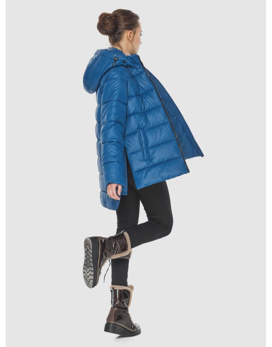 Куртка синего цвета женская Wild Club 526-85 фото 4