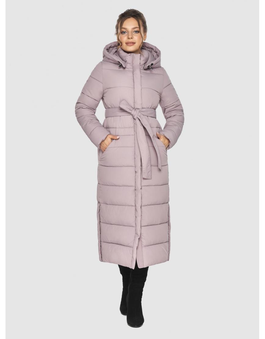 Модная куртка женская Ajento пудровая 21207 фото 6