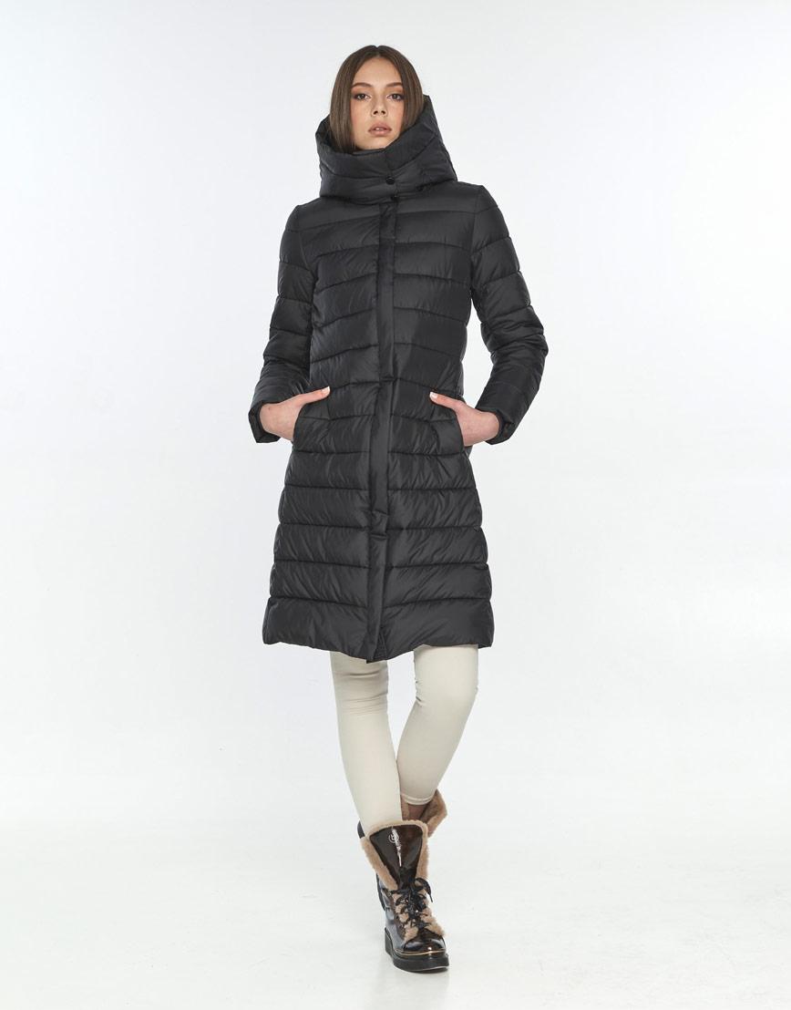 Зимняя куртка чёрная Wild Club женская 522-65 фото 1