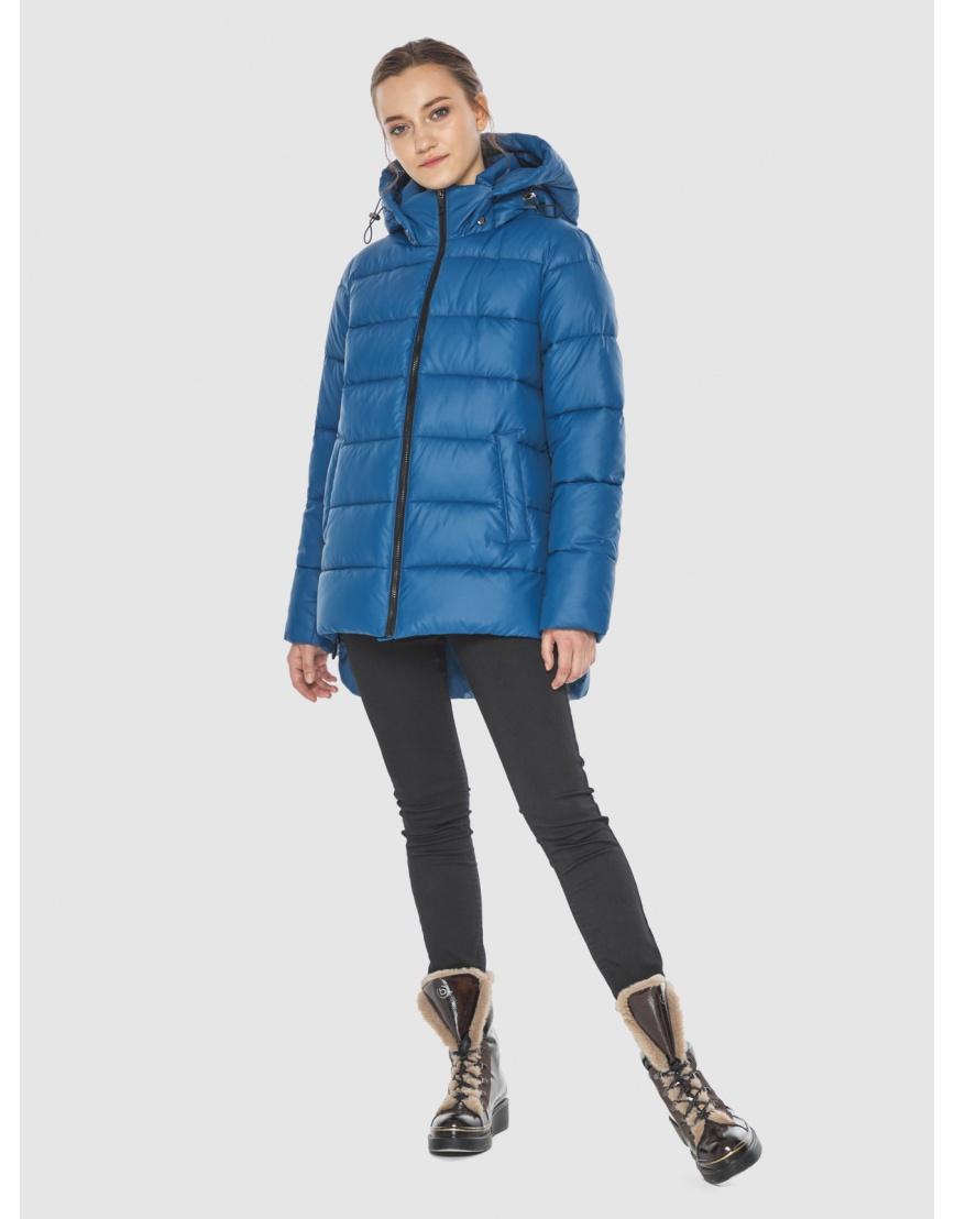 Куртка синего цвета женская Wild Club 526-85 фото 5