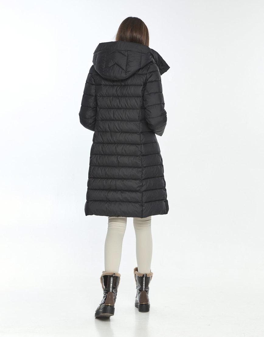 Зимняя куртка чёрная Wild Club женская 522-65 фото 3