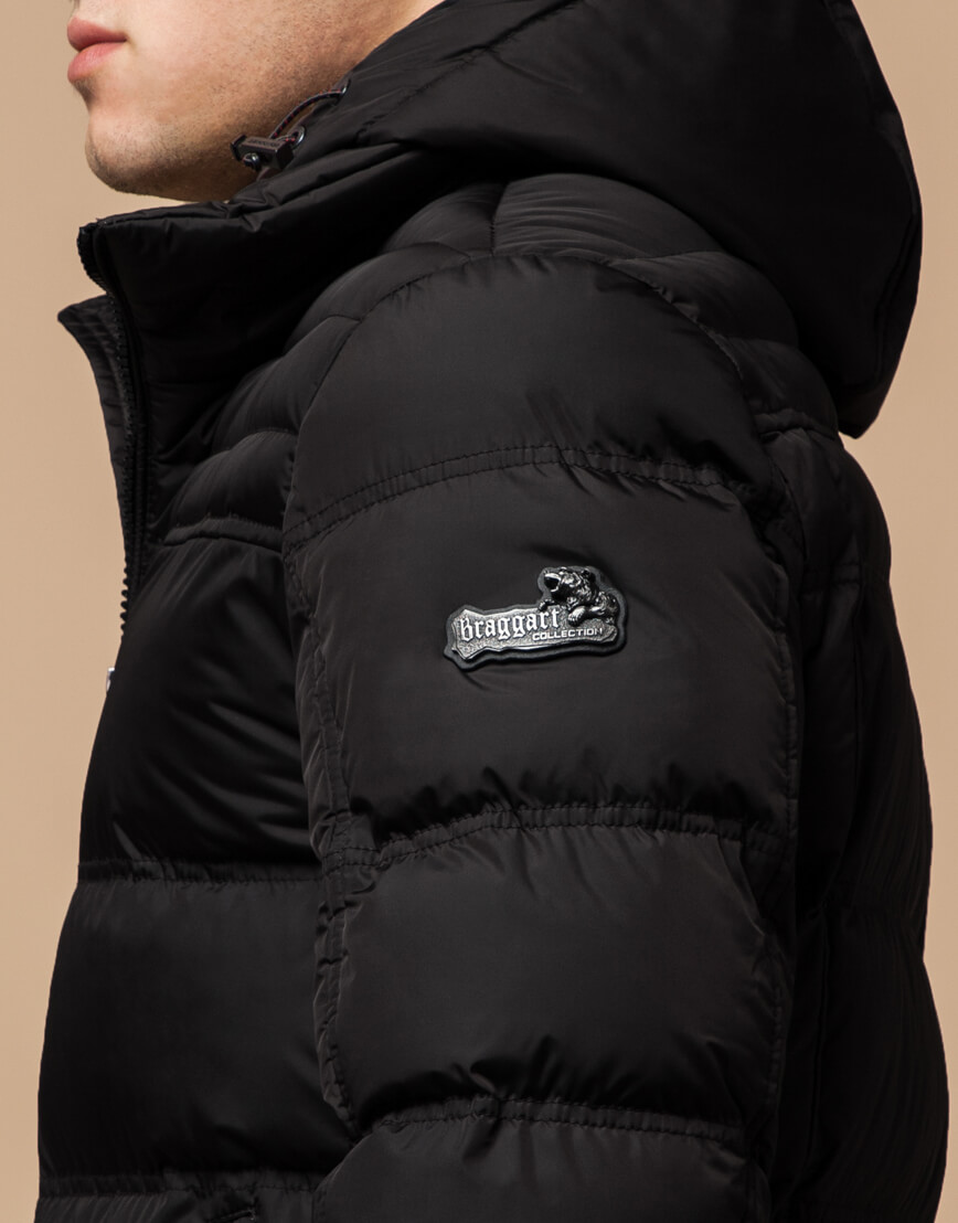Куртка цвета кофе качественная модель 26055