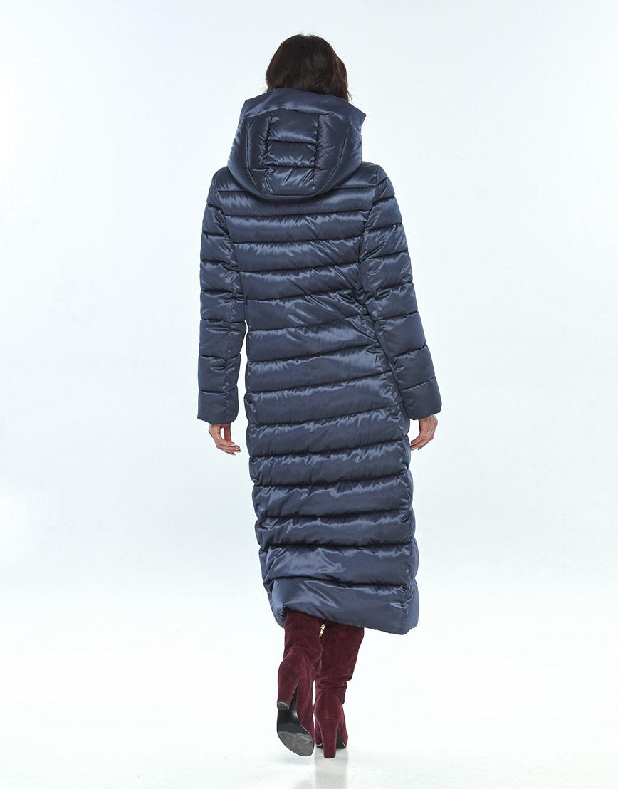 Удобная синяя куртка большого размера женская Vivacana 8320/21 фото 3