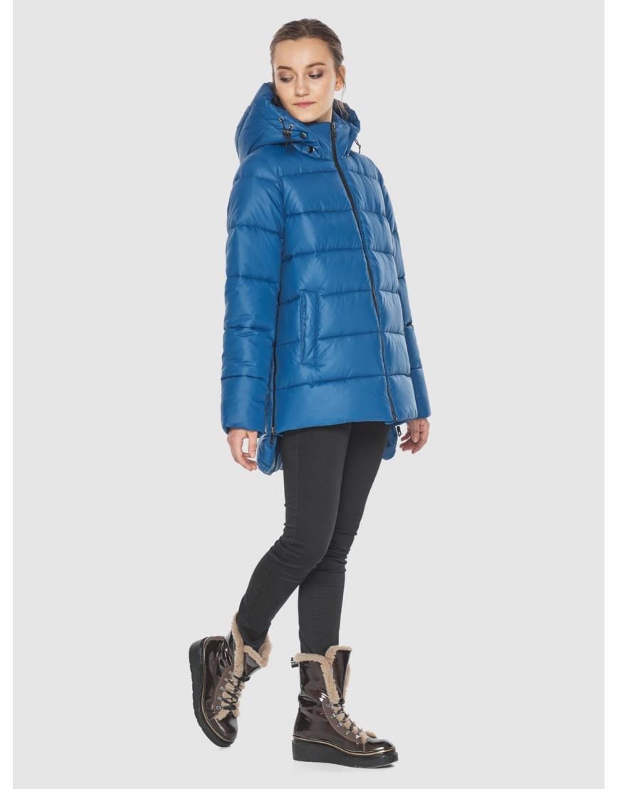 Куртка синего цвета женская Wild Club 526-85 фото 6