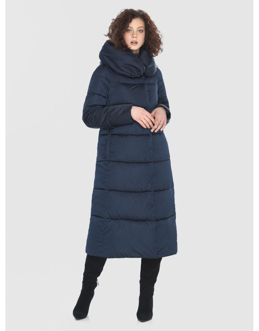 Куртка Moc синяя женская стёганая M6530 фото 5