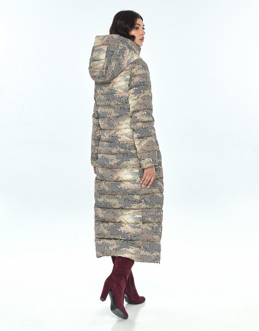 Оригинальная куртка большого размера с рисунком женская Vivacana 8320/21 фото 3