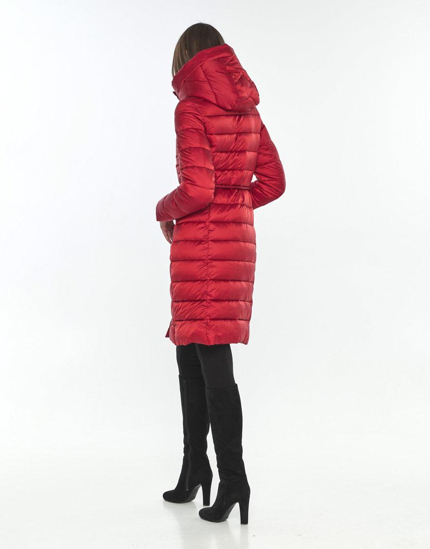 Оригинальная красная куртка подростковая Wild Club на зиму 522-65 фото 3