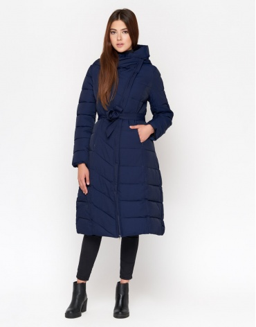 Качественная синяя куртка женская модель DR23