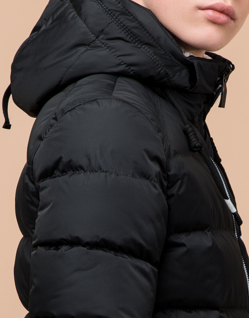 Куртка детская графитового цвета модель 60455
