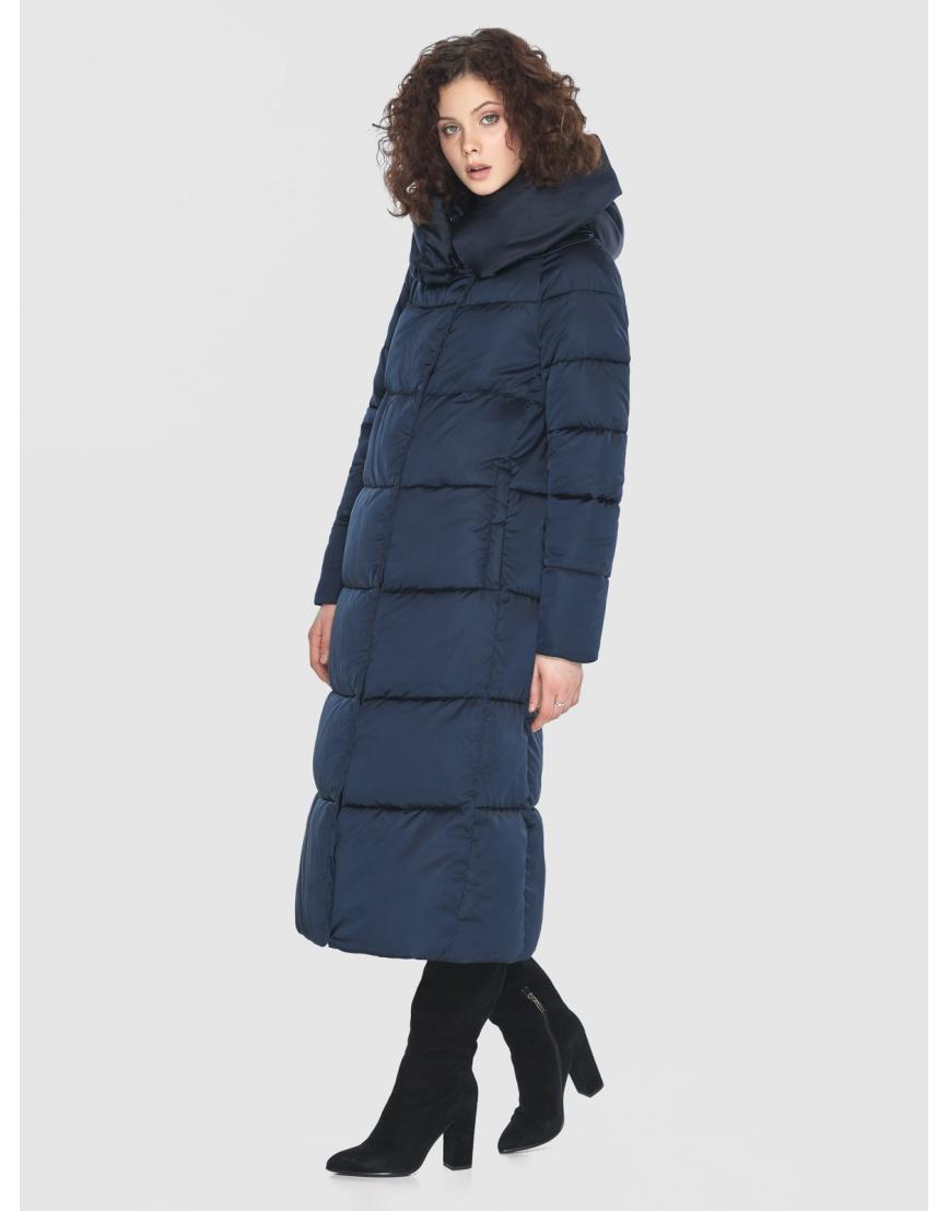 Куртка Moc синяя женская стёганая M6530 фото 2