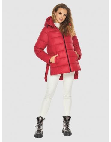 Удобная красная куртка женская Kiro Tokao 60041 фото 1