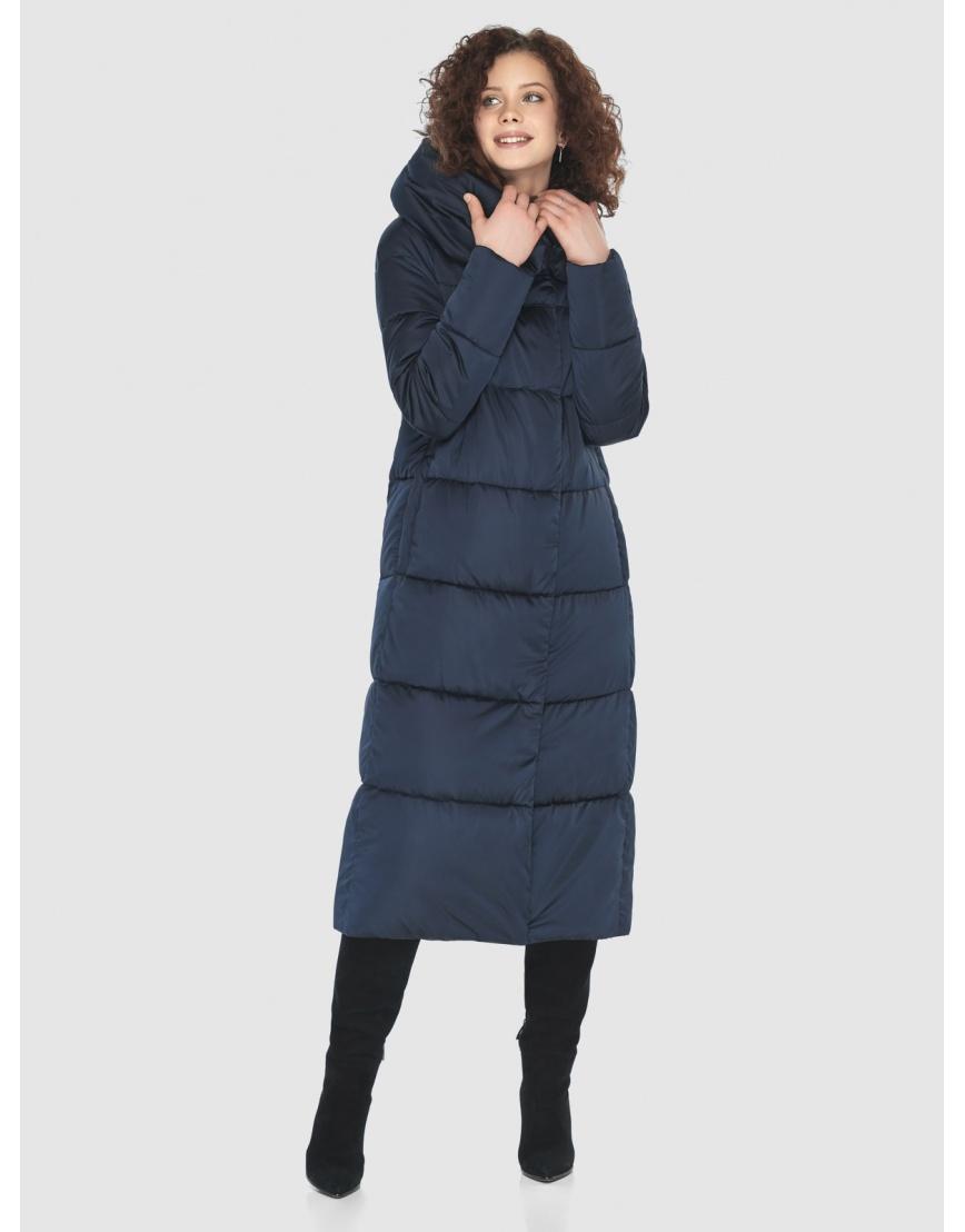 Куртка Moc синяя женская стёганая M6530 фото 1