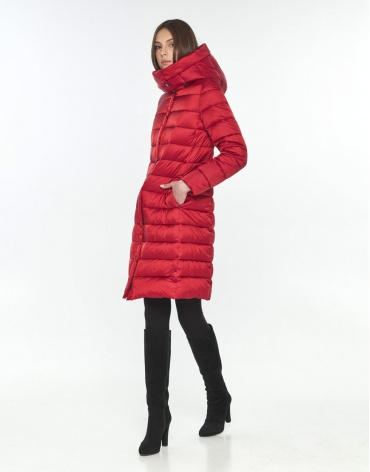 Оригинальная красная куртка подростковая Wild Club на зиму 522-65 фото 1