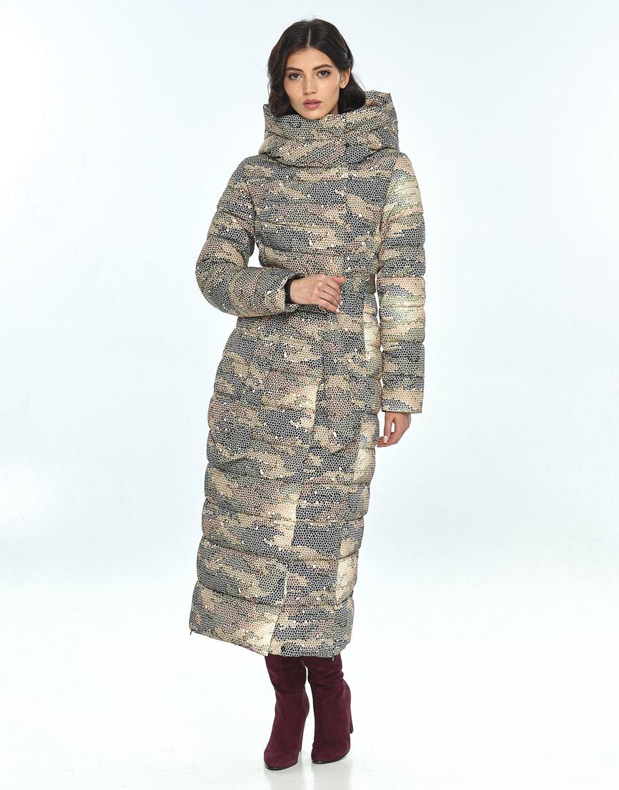 Оригинальная куртка большого размера с рисунком женская Vivacana 8320/21 фото 2