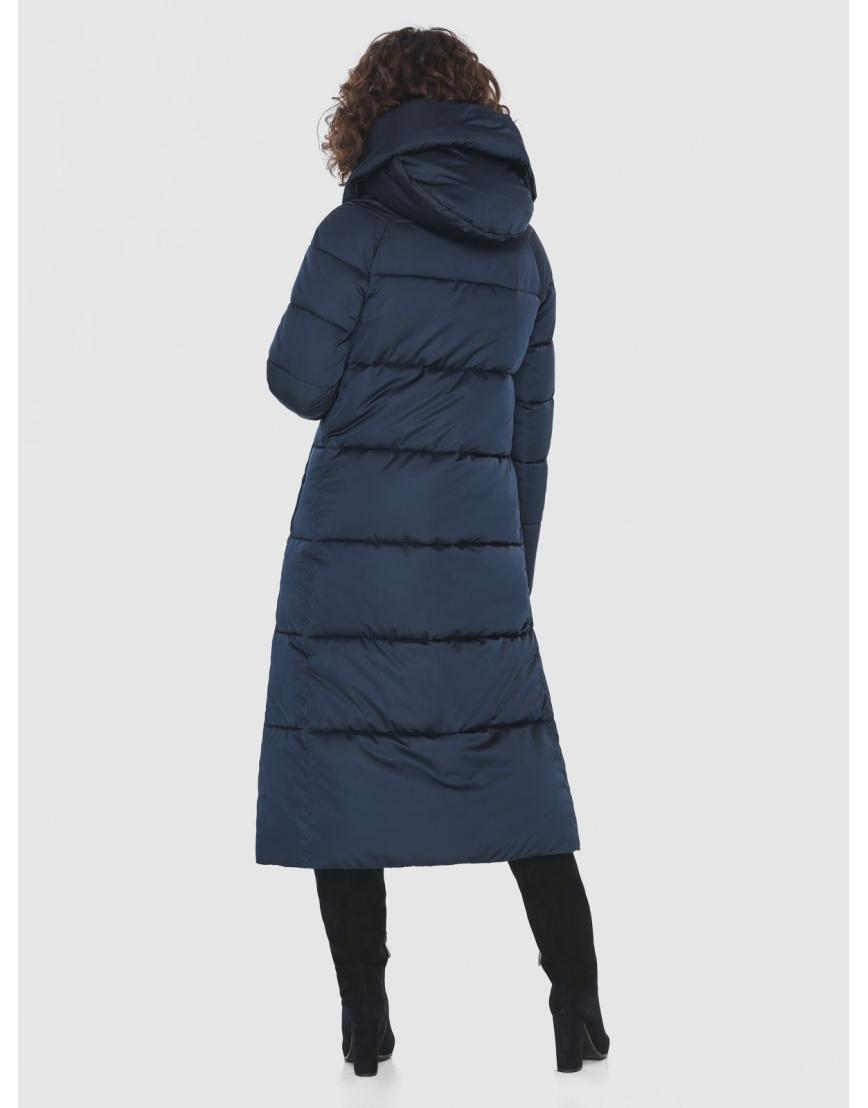 Куртка Moc синяя женская стёганая M6530 фото 4