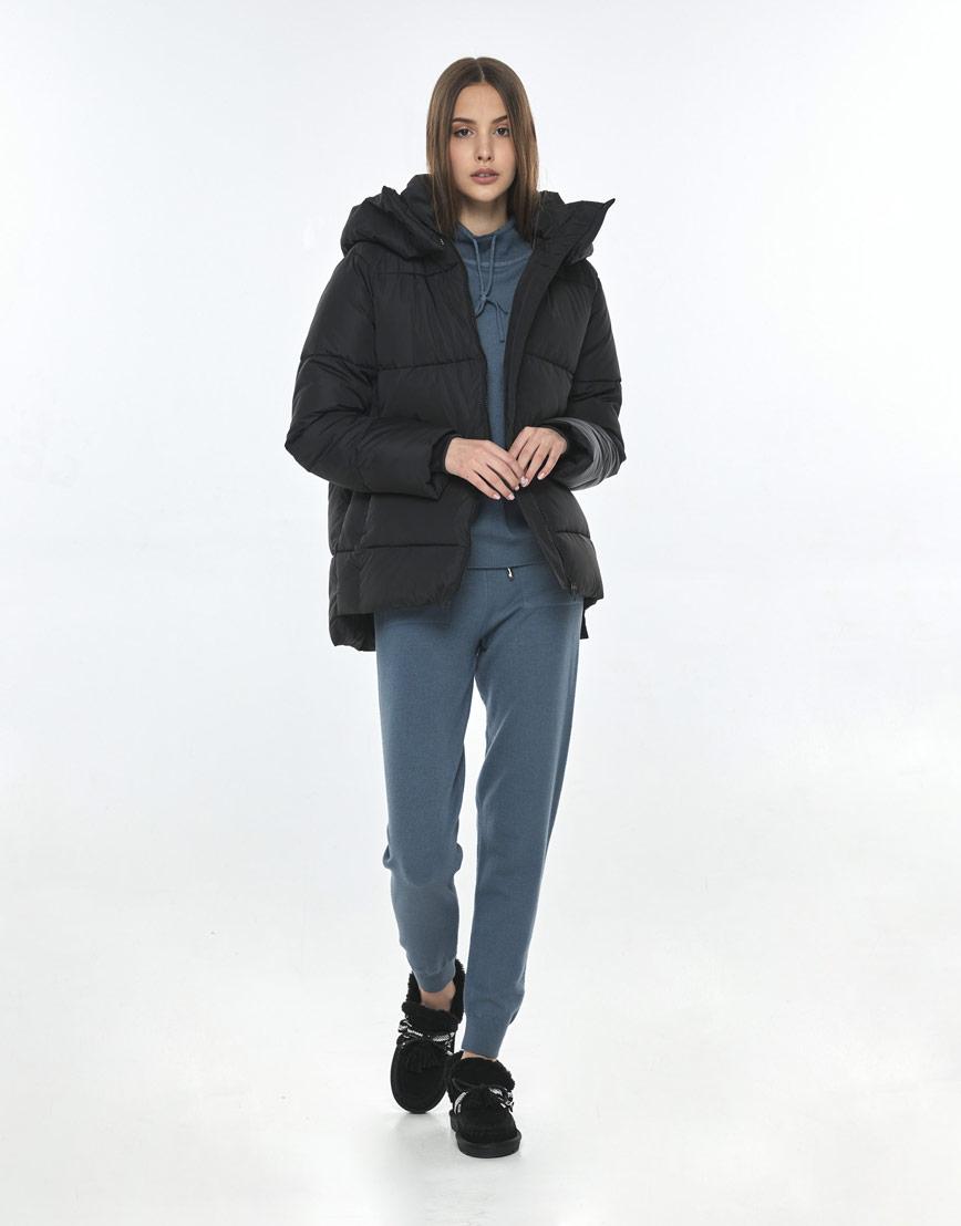 Чёрная куртка Vivacana на подростка-девочку 7354/21 фото 1