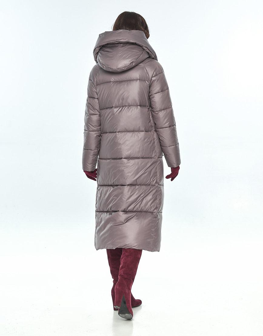 Практичная куртка пудровая женская Vivacana для зимы 9150/21 фото 3