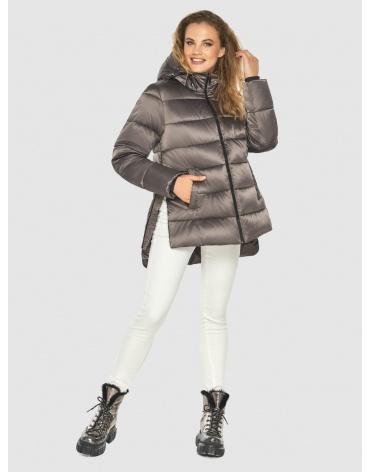 Короткая женская куртка Kiro Tokao цвет капучино 60041 фото 1