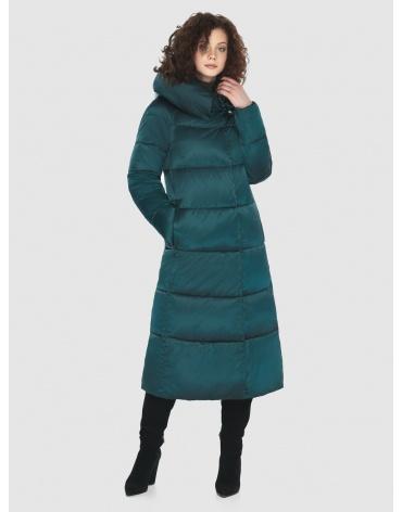 Зелёная куртка элегантная женская Moc M6530 фото 1