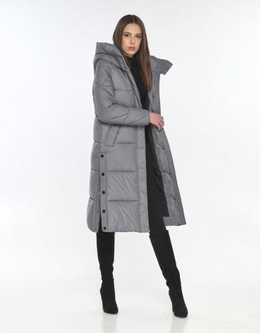 Куртка Wild Club на подростка серая для зимы 534-23 фото 1