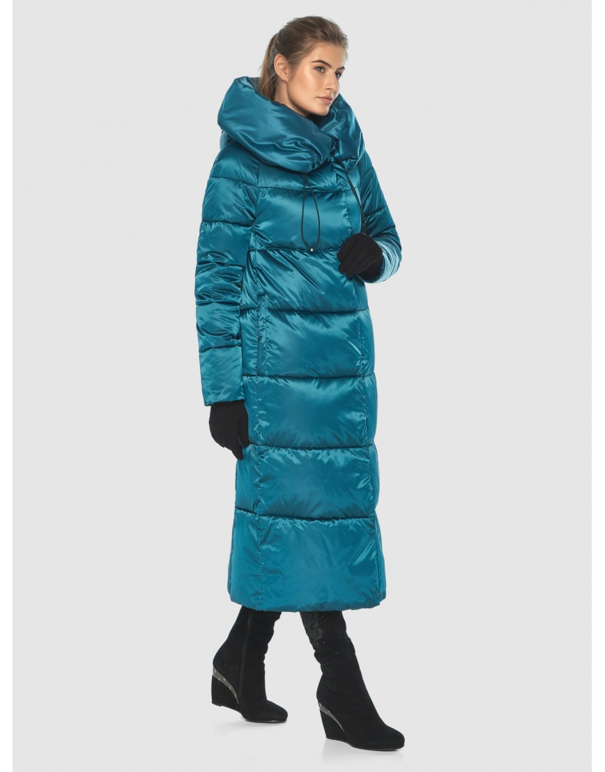 Куртка удобная женская Ajento аквамариновая 21550 фото 1