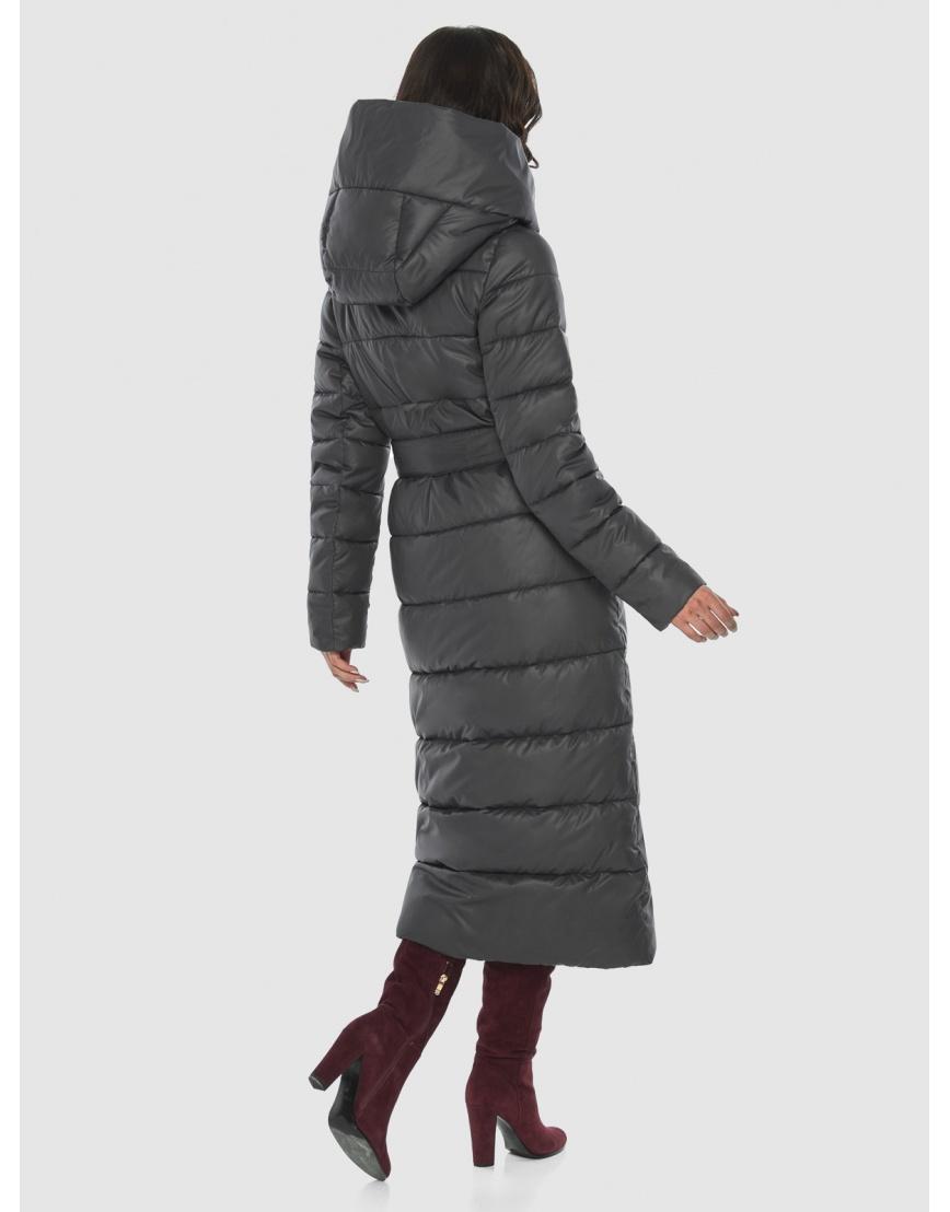 Ультрастильная куртка женская Vivacana серая 9405/21 фото 4