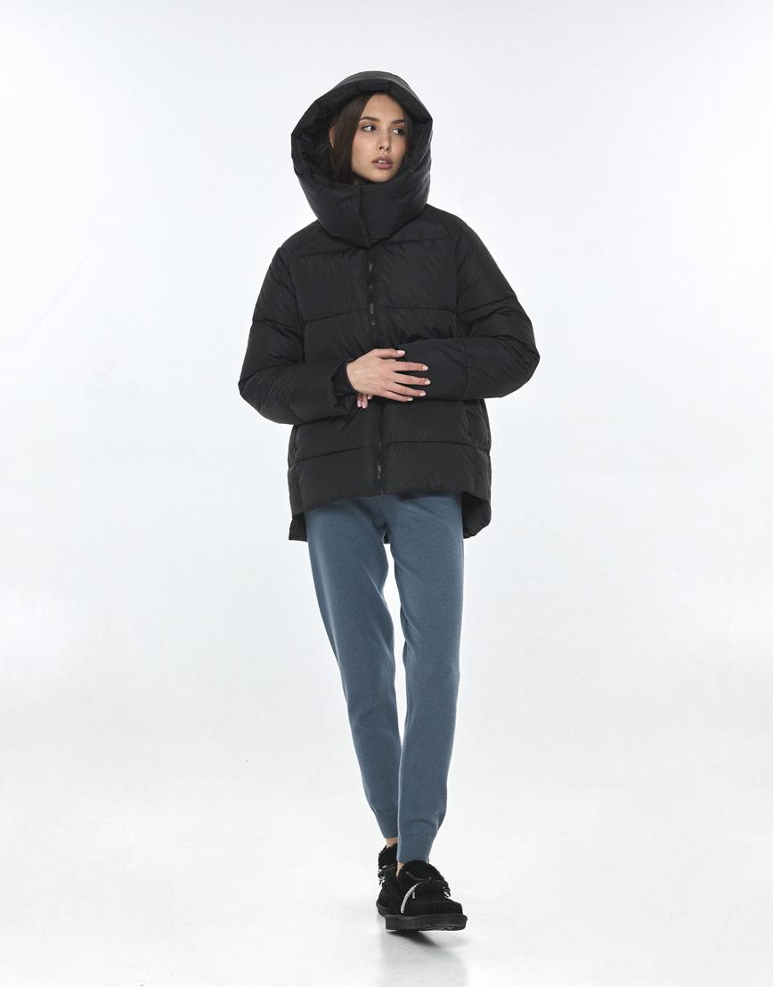 Чёрная куртка Vivacana на подростка-девочку 7354/21 фото 2