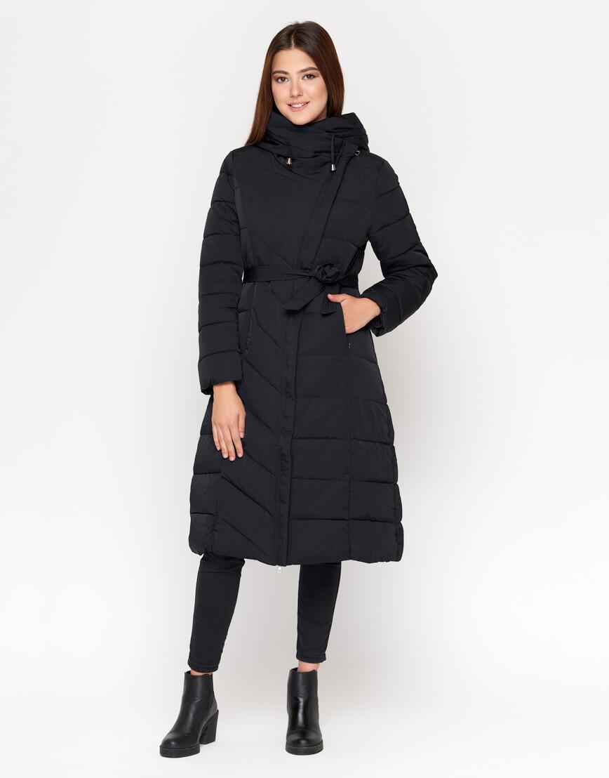 Черная куртка удобная женская модель DR23