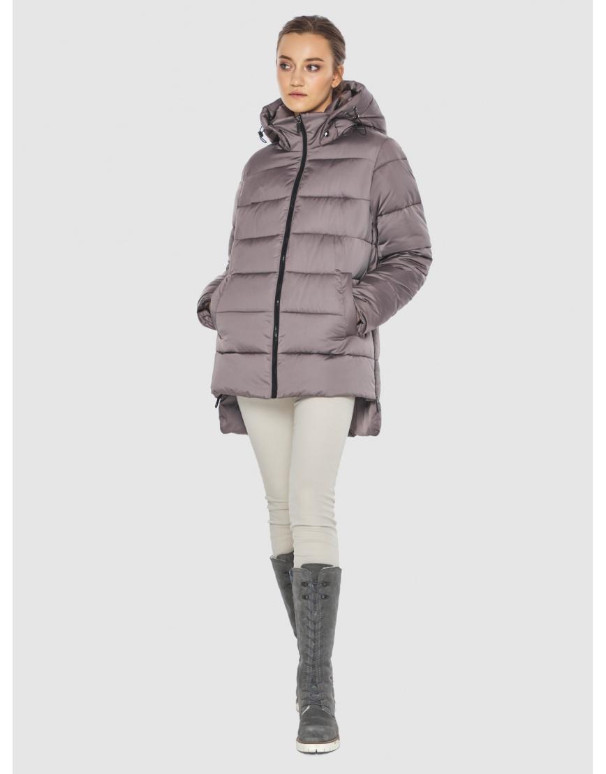 Женская пудровая курточка Wild Club стильная 526-85 фото 5