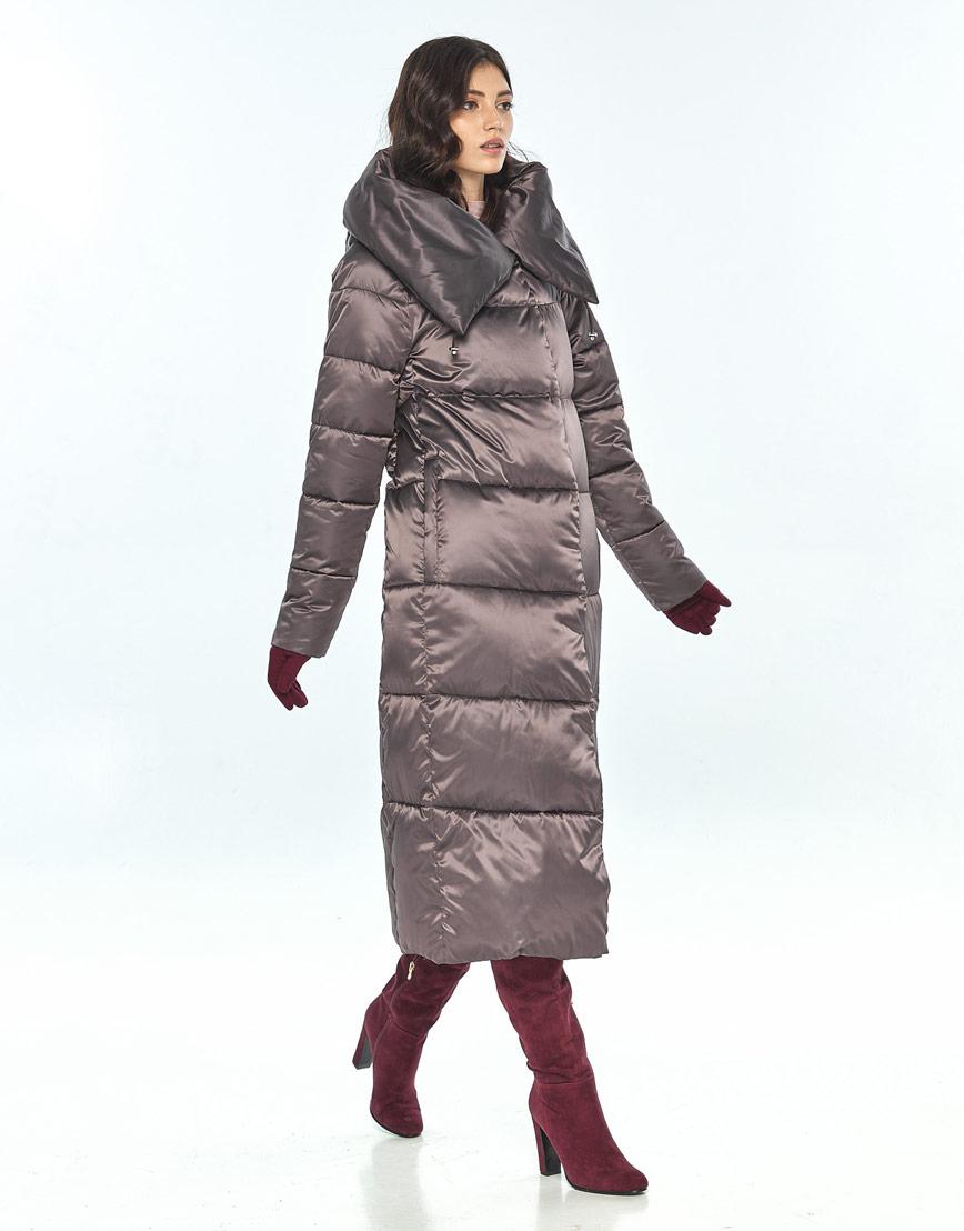 Куртка Vivacana зимняя капучиновая женская модная 9150/21 фото 2