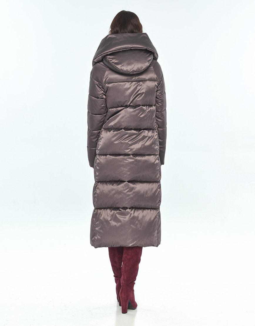 Куртка Vivacana зимняя капучиновая женская модная 9150/21 фото 3