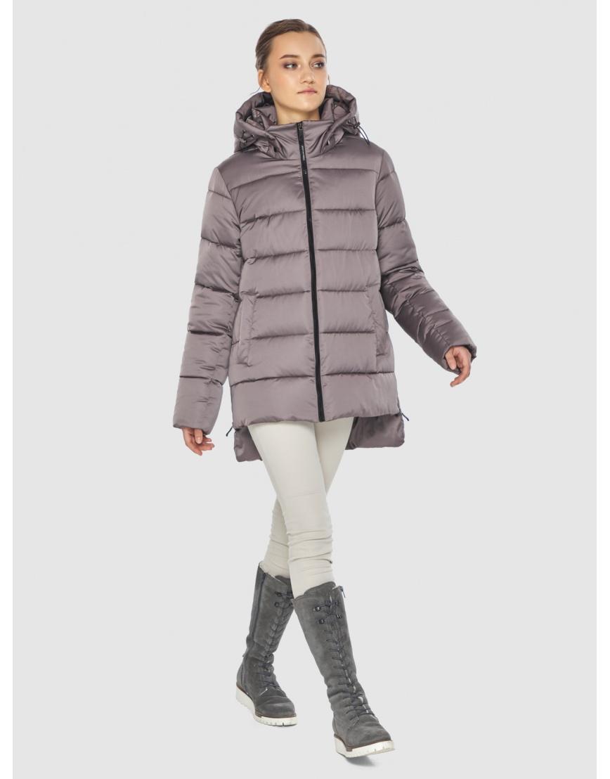 Женская пудровая курточка Wild Club стильная 526-85 фото 6