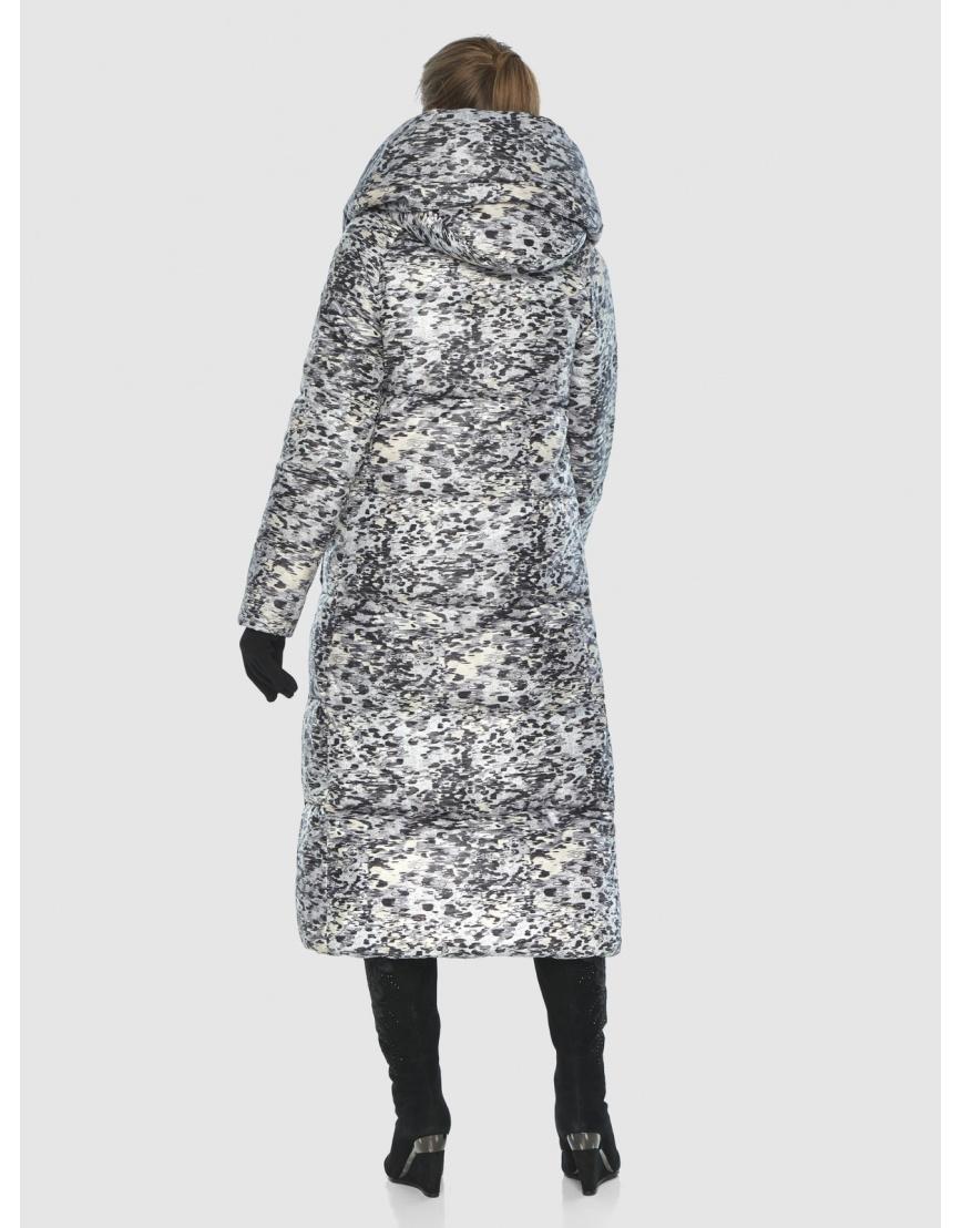 Удлинённая комфортная женская куртка Ajento с рисунком 21550 фото 4