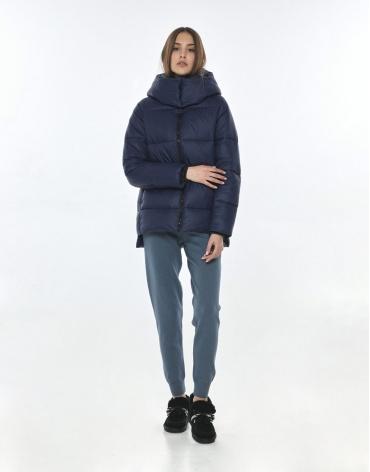 Синяя куртка подростковая для девочки Vivacana 7354/21 фото 1