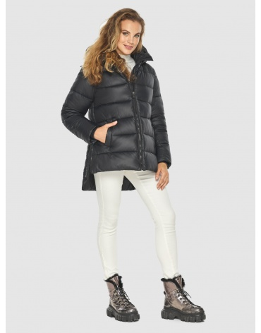 Женская фирменная чёрная куртка Kiro Tokao 60041 фото 1