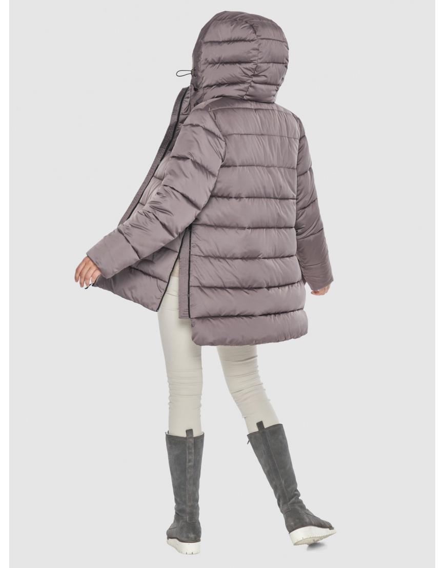 Женская пудровая курточка Wild Club стильная 526-85 фото 2