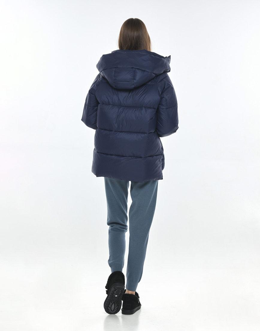 Синяя куртка подростковая для девочки Vivacana 7354/21 фото 3
