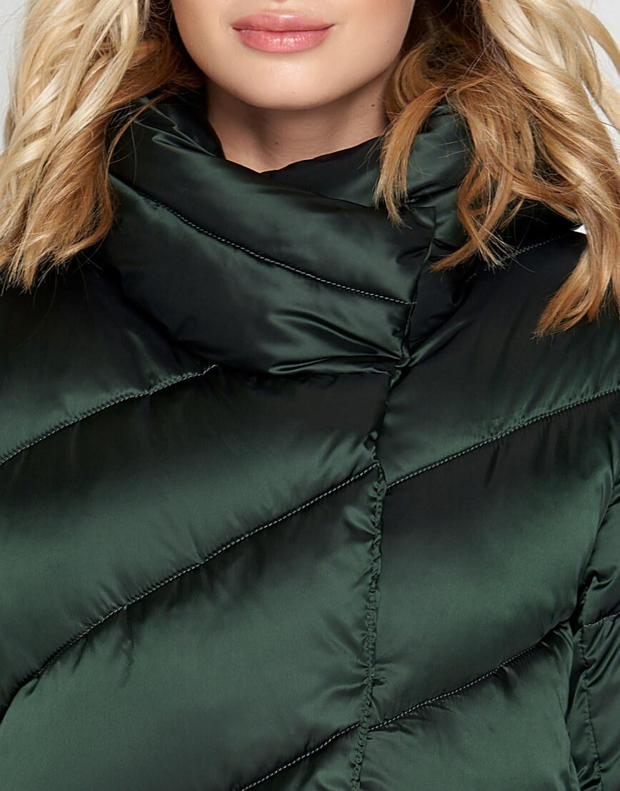 Зеленый зимний воздуховик женский Braggart модель 30952 оптом