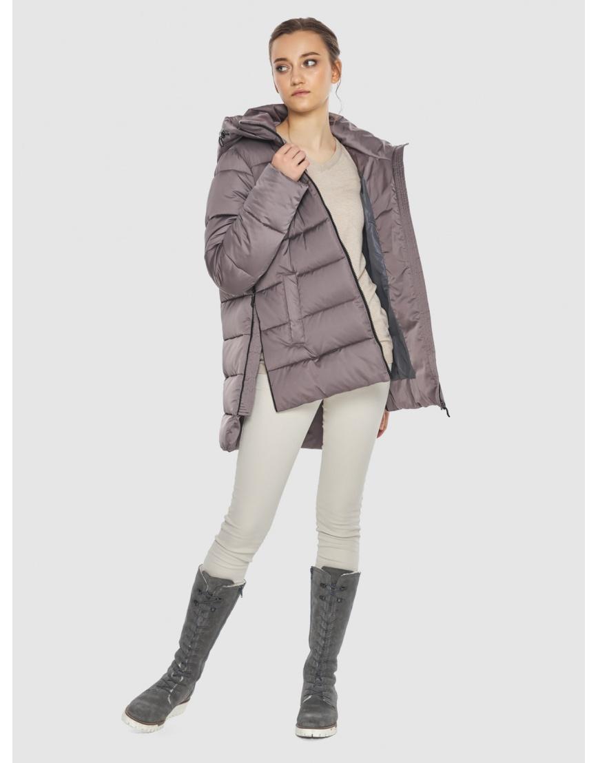 Женская пудровая курточка Wild Club стильная 526-85 фото 3