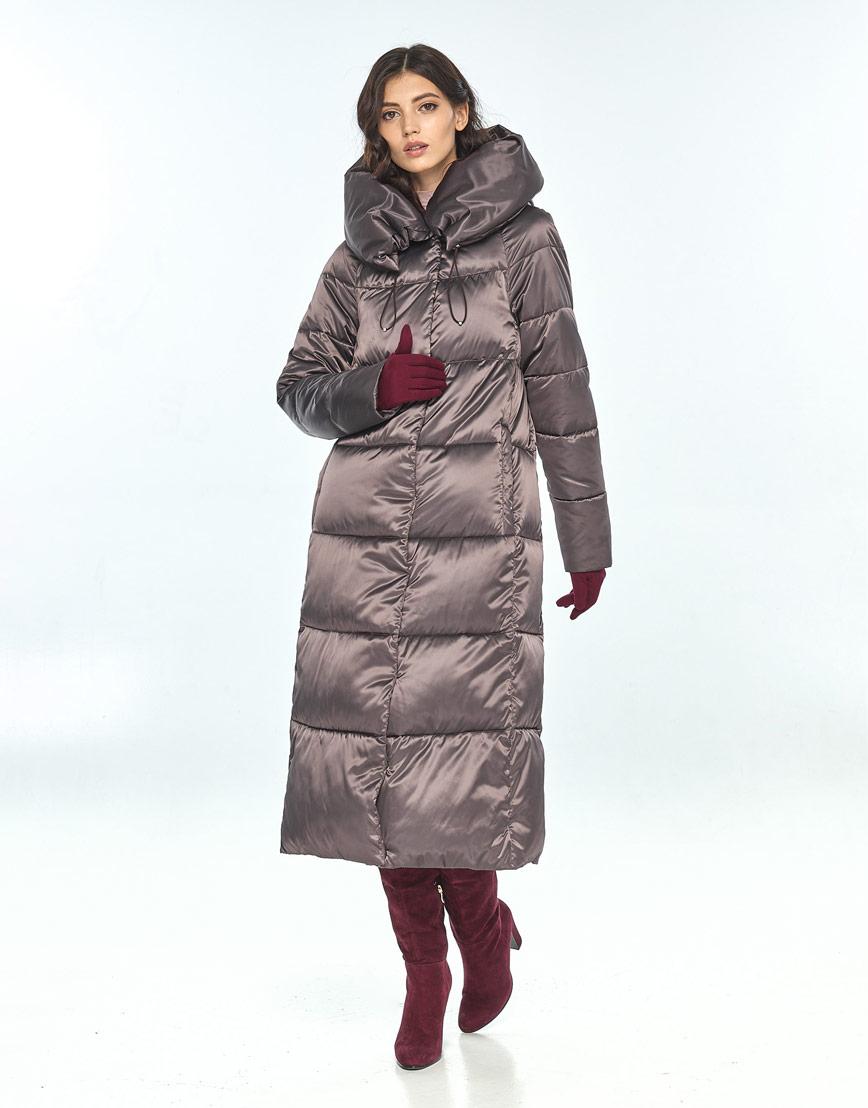 Куртка Vivacana зимняя капучиновая женская модная 9150/21 фото 1