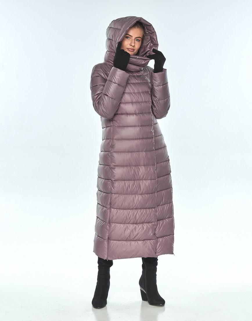 Женская куртка Ajento пудровая на молнии 23320 фото 1