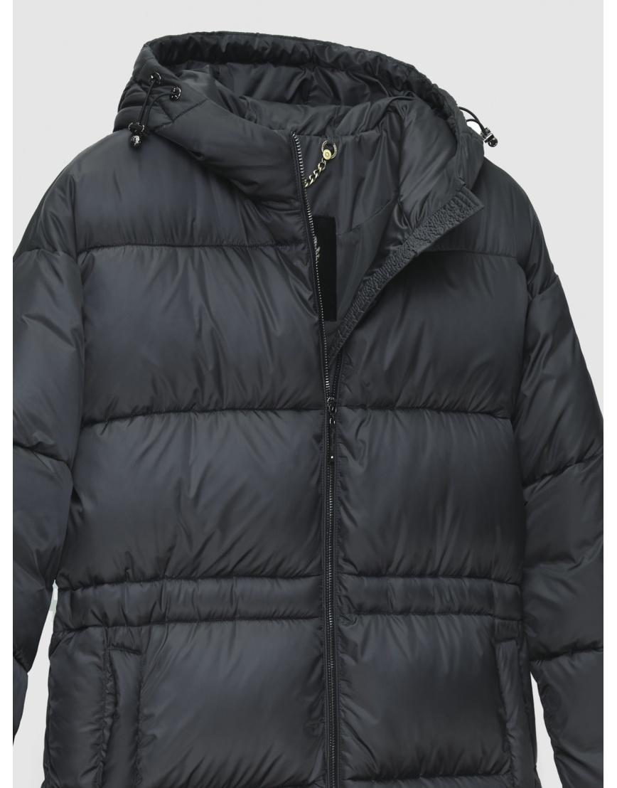 Куртка длинная женская Braggart серая зимняя 200030 фото 3