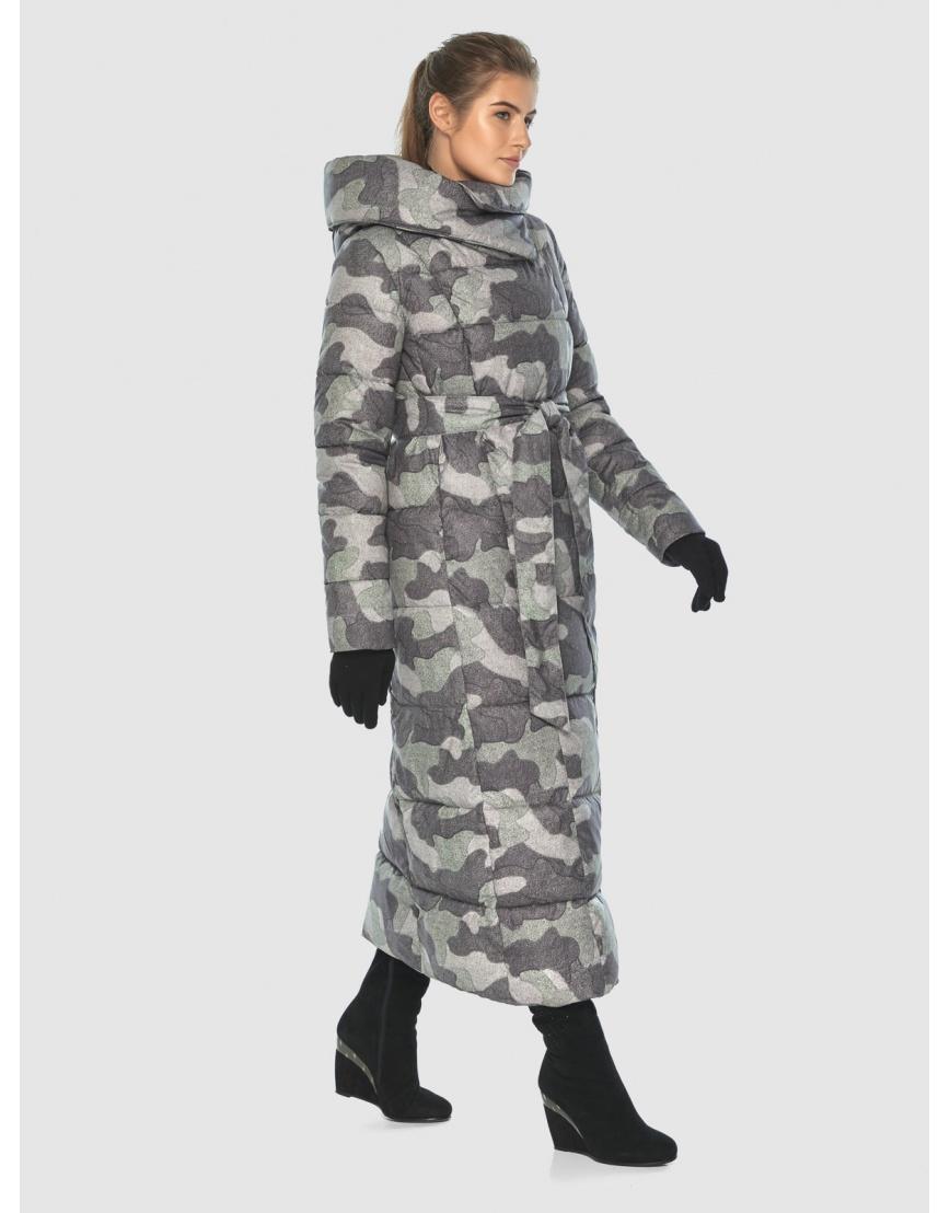Комфортная куртка с рисунком женская Ajento 22356 фото 5