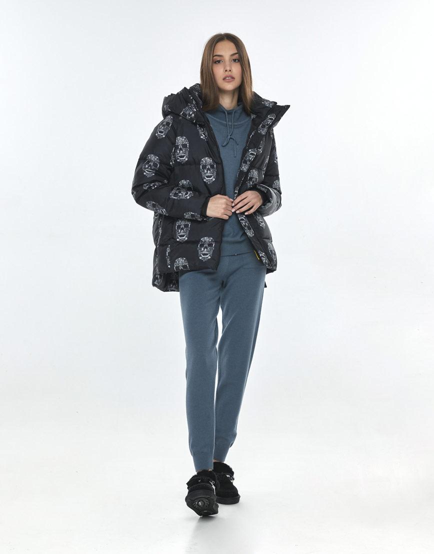 Подростковая куртка с рисунком практичная Vivacana 7354/21 фото 2