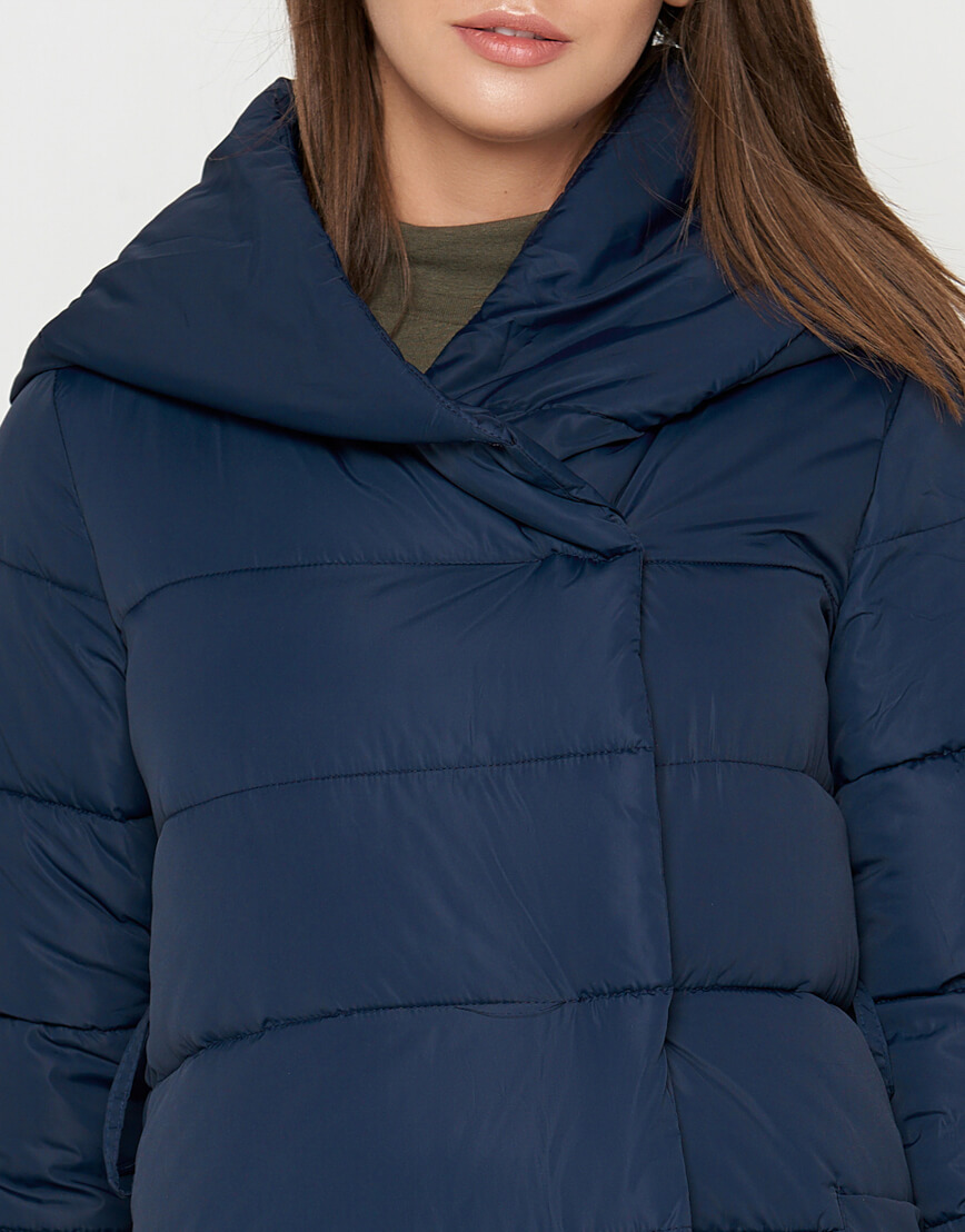 Женская синяя куртка брендовая модель 8806